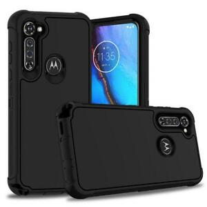 For Motorola Moto G Stylus Shockproof Armor Rugged Hybrid Case+Screen Protector