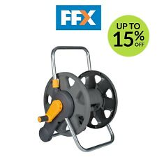 More details for hozelock hoz2475 2-n-1 hose storage system reel wall mounted or freestanding