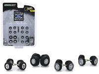 Built Ford Tough 24pc Wheel & Tire Set Series 1 Diecast 1:64 Greenlight 16010B*