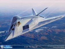 ART PRINT: F-117 The Dragon - Print by Shepherd
