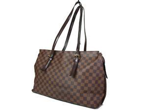 LOUIS VUITTON Chelsea Damier Canvas Tote Bag, Shoulder Bag LT15391L