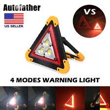 Led Light Car Warning Triangle Emergency Lamp Safety Flashing Sign Road Roadside