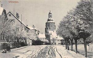 Winnenden Stadtpartie im Schnee gl1921 157.149