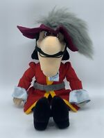The Walt Disney Peter Pan Captain Hook Collectible Plush 20 Inch FREE SHIPPING!