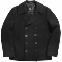 Alpha Industries Peacoat Black Abrigo