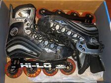 Mission Helium 550 Hi-Lo Inline Hockey Skates Roller Blades Mens Size 9