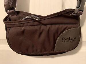 Overland Equipment Crossbody Bag Canvas Travel Organizer Purse Adjustable Strap