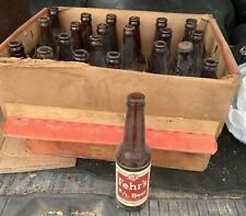 New ListingFehr's Beer Bottles With Cardboard Box