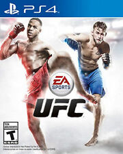 EA Sports UFC (Sony PlayStation 4) PS4 GAME COMPLETE w/MANUAL FIGHT NIGHT MMA