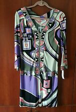100%authentic Emilio Pucci Cosmo Jersey Dress size 42 / 8 brand new