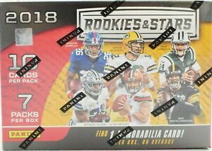 2018 Panini Rookies & Stars NFL Football CARD Box - LAMAR JACKSON ROOKIE!