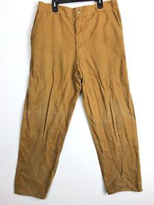 A1 Vintage Black Sheep Men's Duck Canvas Hunting Brush Pants USA 36 x 30