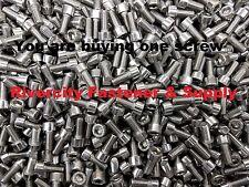 (1) M6-1.0x14mm Socket Allen Head Cap Screws Stainless M6x14mm 6mm x 14mm bolt