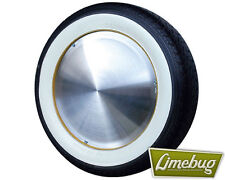 "Atlas Super Wide 4x 16"" Whitewall Tyres Topper Wheel White wall Port-O-Wall"