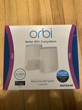 Orbi Whole Home Tri-Band Wi-Fi System (RBR20)