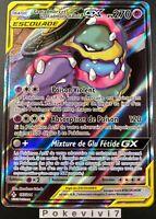 Carte Pokemon GROTADMORV ET GROTADMORV 197/214 GX Escouade FA SL10 FR NEUF