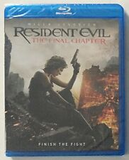 Resident Evil: The Final Chapter (Blu-ray Disc, 2017) - New Factory Sealed