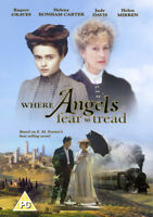 Where Angels Fear to Tread DVD (2014) Helena Bonham Carter, Sturridge (DIR)