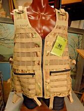 EMPIRE MERC CAMO Paintball Vest 2XL MOLLE load bearing tactical mesh water pocke