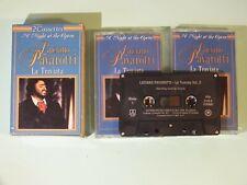 + K7 Audio double -  A Night at the Opéra - Luciano Pavarotti - la Traviata +