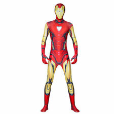 Iron Man Cosplay Costume Avengers Fancy Outfit Jumpsuit Kids Boys Men Superhero