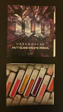 Urban Decay Eye Pencil (LSD) and Lipgloss (Naked) Makeup Bundle - Minis
