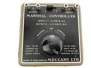 MECCANO LTD MARSHAL POWER CONTROL UNIT - working, see video (00/N Gauge)