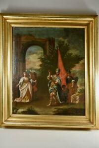 a67e58- Altmeister Gemälde, mythologische Szene, Barock 18.Jh.