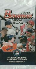 2019 BOWMAN CHROME BASEBALL MEGA BOX (1) FACTORY SEALED PACK: 5 EXCLUSIVE CARDS