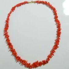Collares y colgantes de joyería cadenas de coral