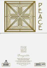 2001 Frank Lloyd Wright Holiday Christmas Cards Peace Susan Dana House Illinois