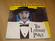 """KID CREOLE & THE COCONUTS - THE LIFEBOAT PARTY (ISLAND 7"""")"""
