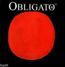 NEW Pirastro Obligato Violin Strings Set 4/4 Steel Ball End