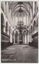 (53566) Foto AK Dordrecht, Interieur Grote Kerk, nach 1945