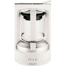 Krups KM4682-10 T 8.2 Weiss Kaffee-Druckbrühmaschine 850 W Glaskanne