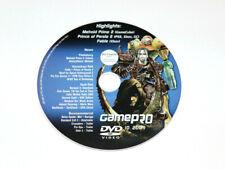 GamePro DVD lrte Prime 2 Fable Xbox residente Evil 2 halo tráiler Wario Ware