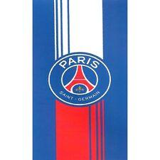 DRAP DE BAIN, SERVIETTE DE PLAGE FOOTBALL -  PSG  - 75X150 cm 100% COTON C.53 17