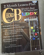CHORD BUDDY Guitar Learning System Teaching 2-Month Lesson Plan Book & DVD Only