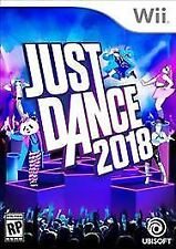 Just Dance 2018 (Nintendo Wii, 2017) new without tags