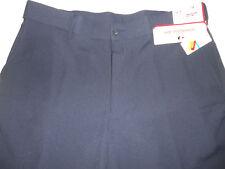 NWT GRAND SLAM 36 x 10 GOLF Comfort Waistband UPF50 Flat Front Iris Blue Shorts
