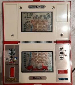 game and watch nintendo Mickey et Donald