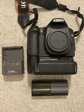 Canon EOS 40D 10.1MP Black DSLR Digital Camera Body w/ TG-BG20D Battery Grip
