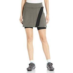 PEARL IZUMI Womens Select Escape Cycling Skirt, Phantom Heather Shorts, Small