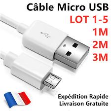 Micro USB Chargeur et câble de données Pour Téléphone Portable, Mobile, Tablette