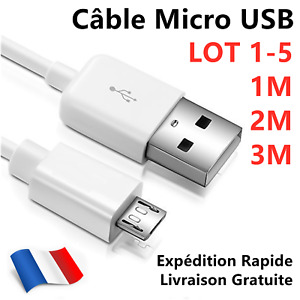 Micro USB Caricabatteria E Cavo Dati per Cellulare, Cellulare, Tablet
