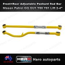 """Front+Rear Adjustable Panhard Rod Bar For Nissan Patrol GQ GU1 Y60 Y61 Lift 2-4"""""""
