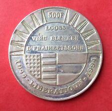 Luxembourg -  Superbe monnaie de 500 Francs 1994  En Argent  - 1944 Liberation
