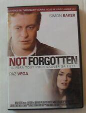 DVD NOT FORGOTTEN - Simon BAKER / Paz VEGA