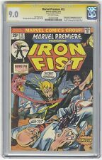 Marvel Premiere #15 CGC 9.0 HIGH GRADE Signature Series Lee KEY 1st Iron Fist