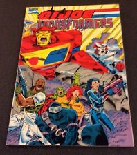 GI JOE Transformers 1st Printing Marvel Comic Book High Grade 9.2+ Beauty!
